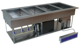 LTI QuickSwitch Universal Hot-Cold-Freeze Food Wells